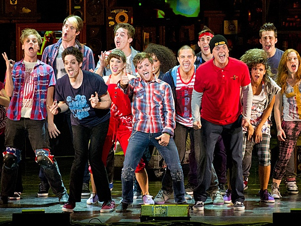 Show Photos - national tour American Idiot - cast