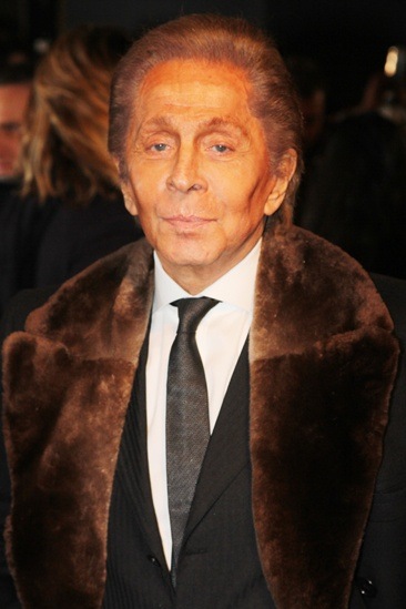 Les Miserables London premiere – Valentino Garavani