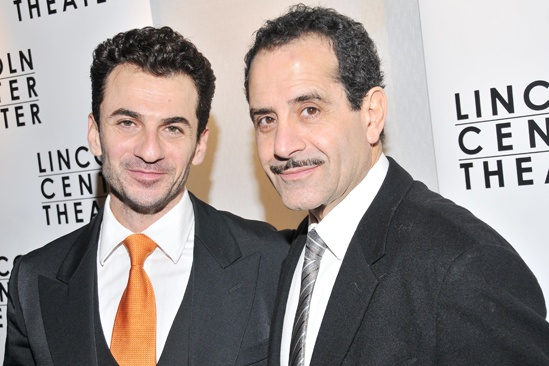 Golden Boy – opening night – Michael Aronov – Tony Shalhoub