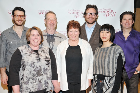 Women of Will- Daniel Kluger- Sarah Hancock- Nigel Gore- Tina Packer- Eric Tucker- Valerie Bart- Les Dickert