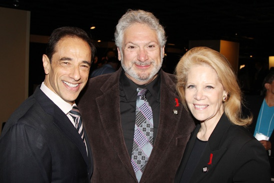 2013 Tony Nominee Brunch — Hal Luftig — Harvey Fierstein — Daryl Roth