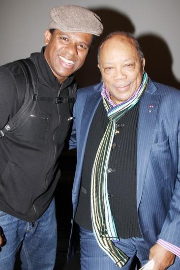 Quincy Jones at 'Motown' — Ryan Shaw — Quincy Jones