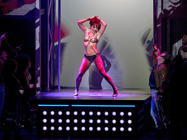 Show Photos - Flashdance - tour - Katie Webber