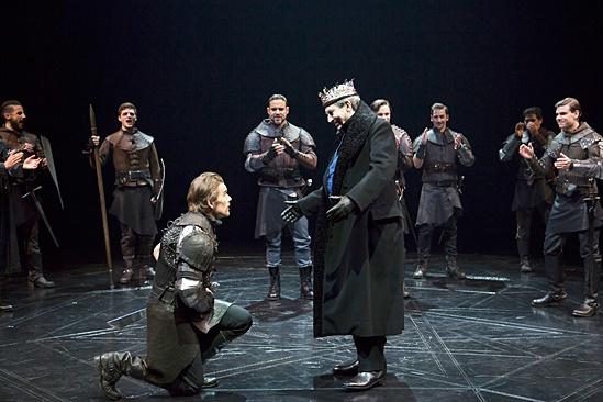 <I>Macbeth</I>: Show Photos - Ethan Hawke - Daniel Sunjata - Richard Easton