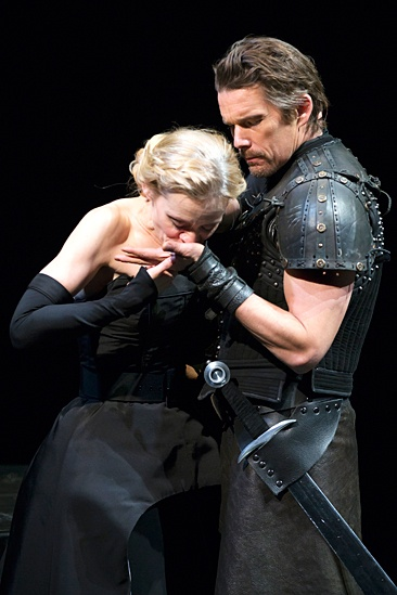 <I>Macbeth</I>: Show Photos - Anne-Marie Duff - Ethan Hawke