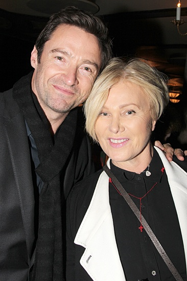 Hugh jackman loves his wife