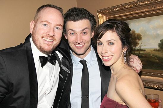 Gentleman's Guide opening night – Darren Goldstein – Bryce Pinkham – Emily Young