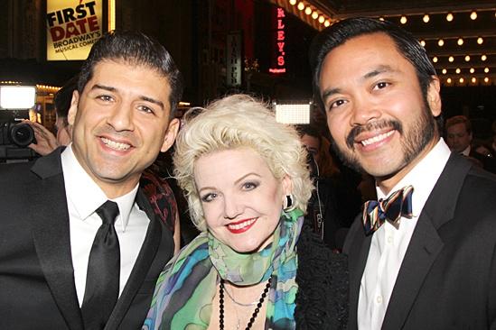Gentleman's Guide opening night – Tony Yazbeck – Alison Fraser – Jose Llana