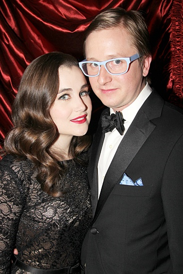 Gentleman's Guide opening night – Lauren Worsham – Kyle Jarrow