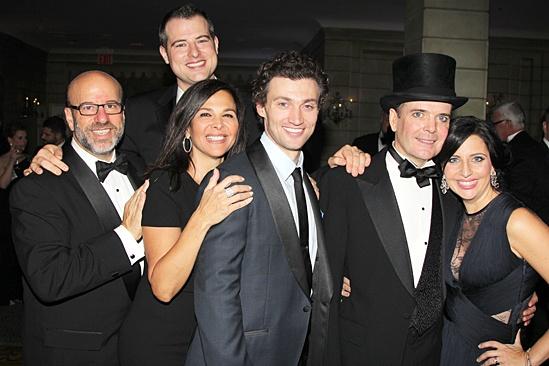 Gentleman's Guide opening night – producers – Bryce Pinkham – Jefferson Mays