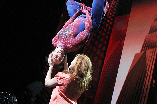 broadway com photo 4 of 19 spideys past and present fly in for