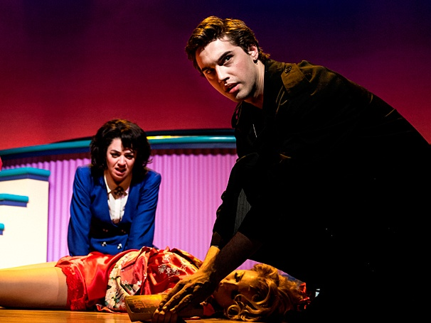 Heathers: The Musical - Show Photos - PS - 3/14 - Barrett Wilbert Weed - Ryan McCartan - Jessica Keenan Wynn