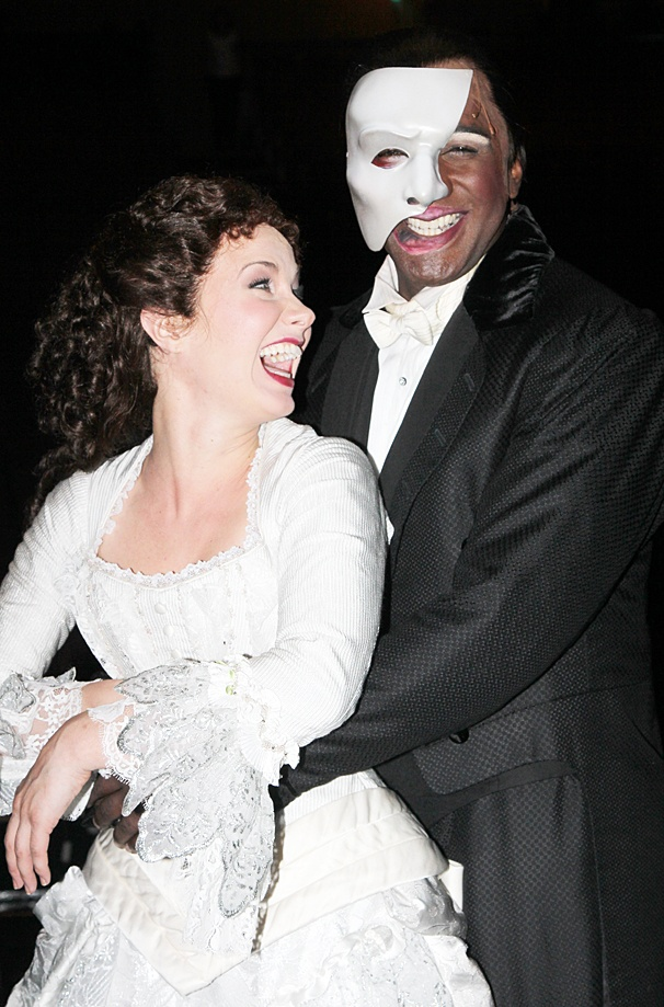 The Phantom of the Opera – Norm and Sierra first - OP – 5/14 - Sierra Boggess - Norm Lewis