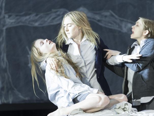 Show Photos - The Crucible - 3/16 - Elizabeth Teeter - Saoirse Ronan - Tavi Gevinson