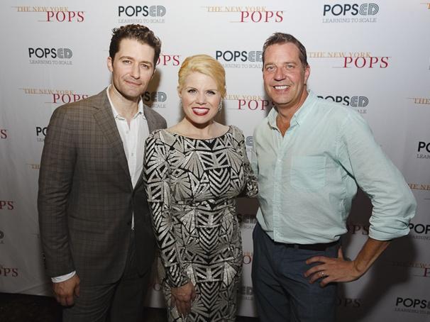 NY POPS - Matthew Morrison - Megan Hilty - 7/16 - Emilio Madrid-Kuser