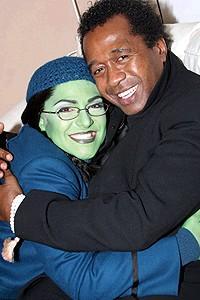 Wicked cast farewells 2006 - Shoshana Bean - Ben Vereen