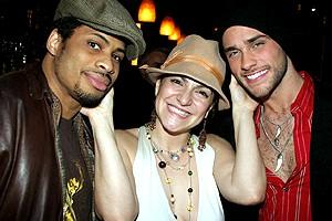 Wicked cast farewells  2006 - Chester Gregory II - Shoshana Bean - Josh Strickland