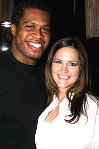 Wicked cast farewells 2006 - Derrick Williams - wife, Julia