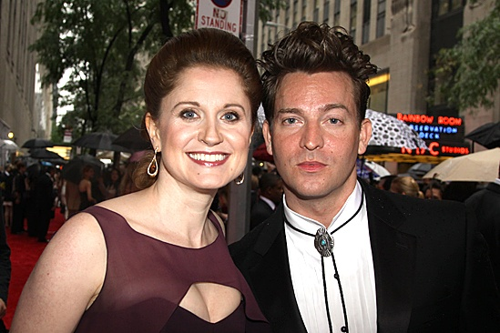 2010 Tony Awards Red Carpet – Christiane Noll – Levi Kreis