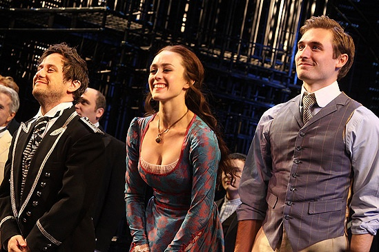 Merchant of Venice Opening night – Christopher Fitzgerald – Heather Lind – Seth Numrich