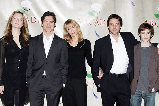 Arcadia meet - Grace Gummer, Billy Crudup, Lia Williams, Raul Esparza and Noah Robbins.