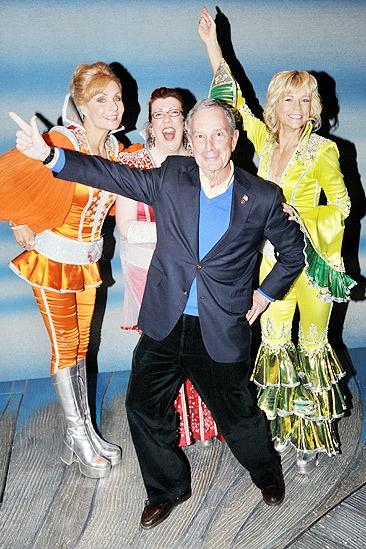 Bloomberg Mamma – Judy McLane - Jennifer Perry  - Mayor Bloomberg – Lisa BresciaBloomberg Mamma – Judy McLane - Jennifer Perry  - Mayor Bloomberg – Lisa Brescia