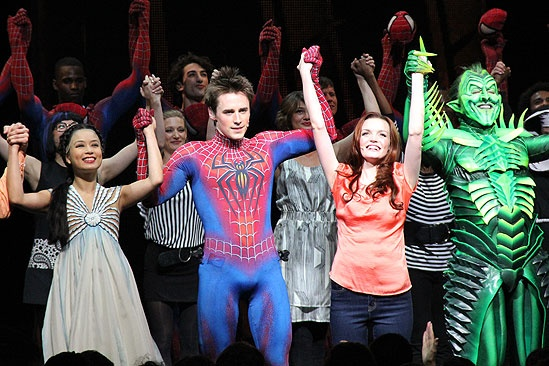 Spider-man opening- cast