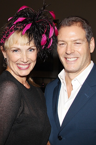 <i>Follies</i> opening night - Colleen Fitzpatrick – Kevin Spirtas