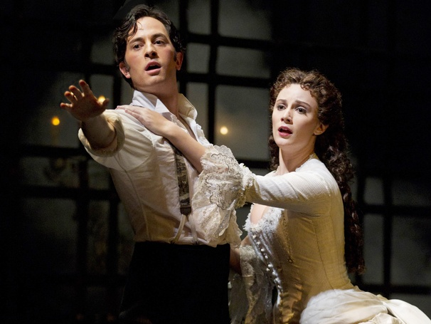 Show Photos - The Phantom of the Opera - Kyle Barisich - Trista Moldovan
