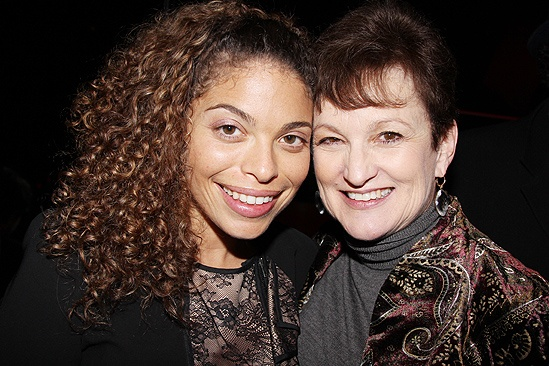 <i>Stick Fly</i> Opening Night – Erika Rose – Alicia Keys' mom Teresa
