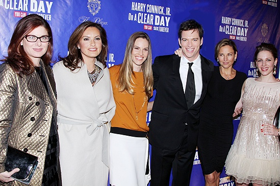 On a Clear Day – Opening – Debra Messing – Mariska Hargitay – Hilary Swank – Harry Connick Jr. – Jill Goodacre – Jessie Mueller