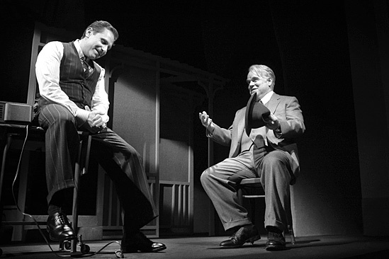 Death of a Salesman - Remy Auberjonois and Philip Seymour Hoffman