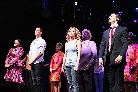 Ghost Opening Night – Da'Vine Joy Randolph – Richard Fleeshman – Caissie Levy – Bryce Pinkham