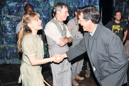 Stephen Colbert at Starcatcher – Celia Keenan-Bolger