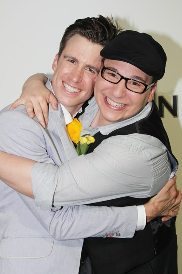 'Book of Mormon' LA Opening—Gavin Creel—Jared Gertner