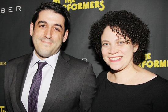 The Performers – opening night – Evan Cabnet – Rocio Galarza