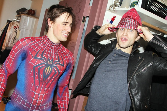 Keegan Allen at Spider-Man – Reeve Carney - Keegan Allen
