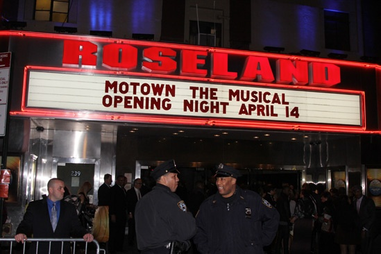 'Motown' Opening Night — Roseland Marquee
