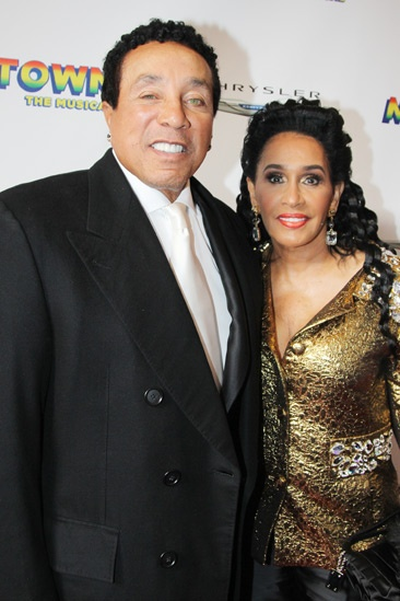 'Motown' Opening Night — Smokey Robinson — Frances Gladney