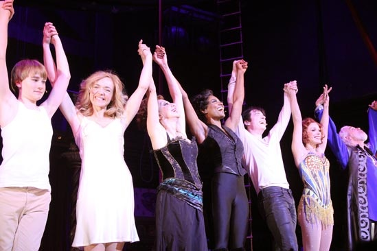 Pippin – Opening Night – cast