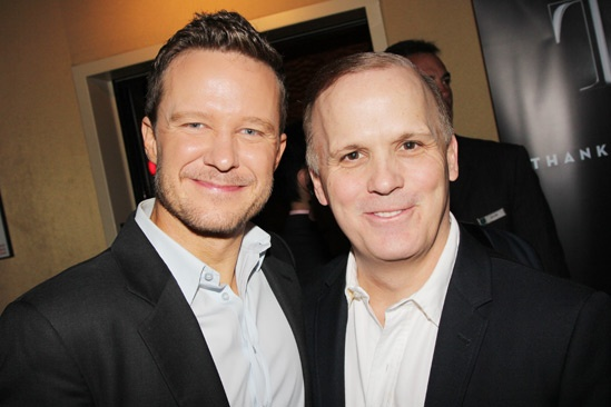 2013 Tony Nominee Brunch — Will Chase — Scott Ellis