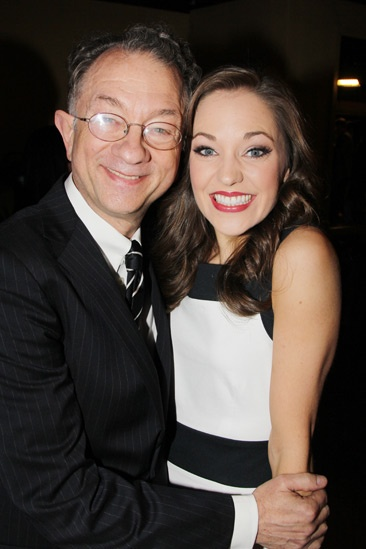 2013 Tony Nominee Brunch — William Ivey Long — Laura Osnes