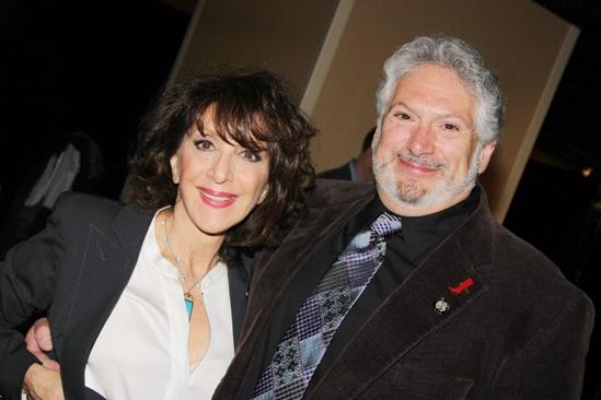 2013 Tony Nominee Brunch — Andrea Martin — Harvey Fierstein