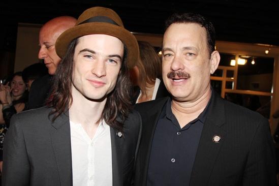 2013 Tony Nominee Brunch — Tom Sturridge — Tom Hanks