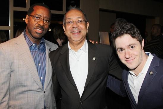 2013 Tony Nominee Brunch — Courtney B. Vance — George C. Wolfe — Jacob Bernstein