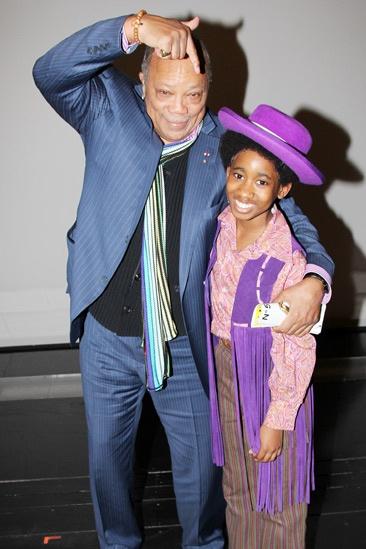 Quincy Jones at 'Motown' — Quincy Jones — Raymond Luke Jr