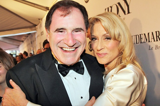 Tony Red Carpet- Richard Kind- Judith Light