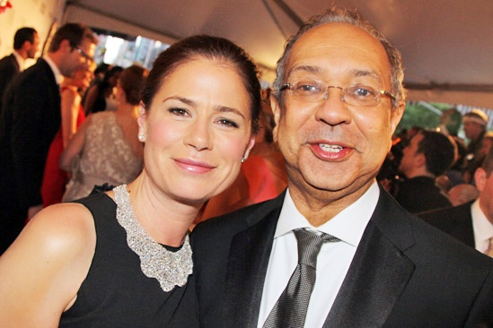 Tony Red Carpet- Maura Tierney- George C. Wolfe