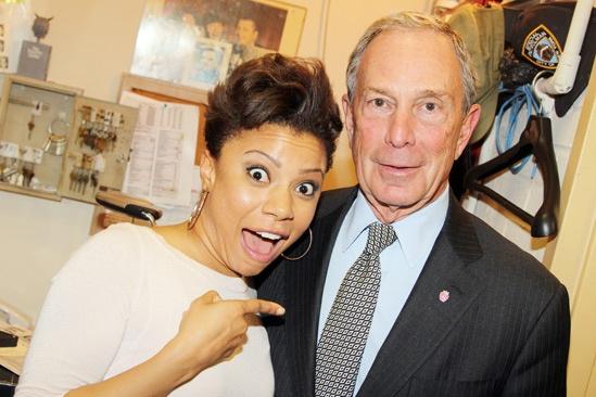 Vanya and Sonia and Masha and Spike-Shalita Grant- Mayor Michael Bloomberg-