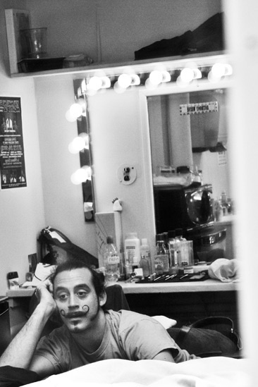 Pippin – Backstage Photos – Yannick Thomas